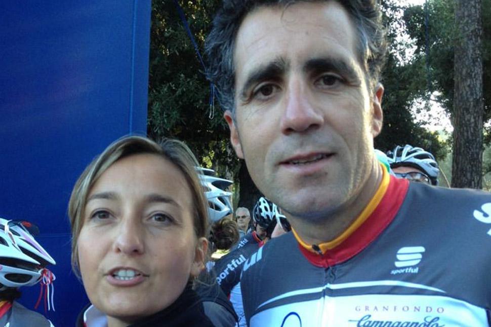 VALERIO INDURAIN PARTENZA GF ROMA 2012